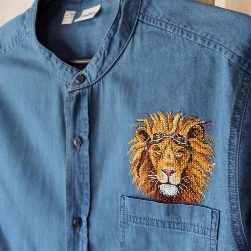 как делать вышивку на одежде